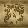 Dragon Quest VII - Map of the World