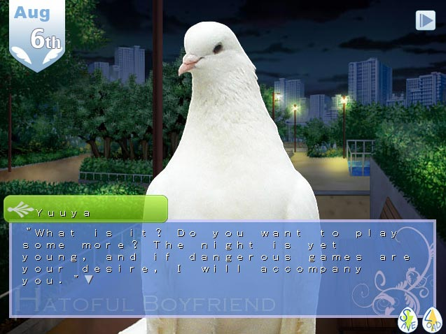Pigeon dating sim review